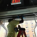 electric strike installation in NYC