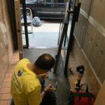 building front door lock repair in NYC