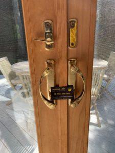 sliding door lock installation in NYC