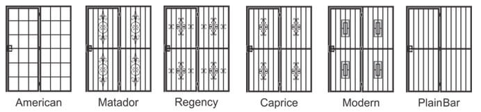 options style of window gate