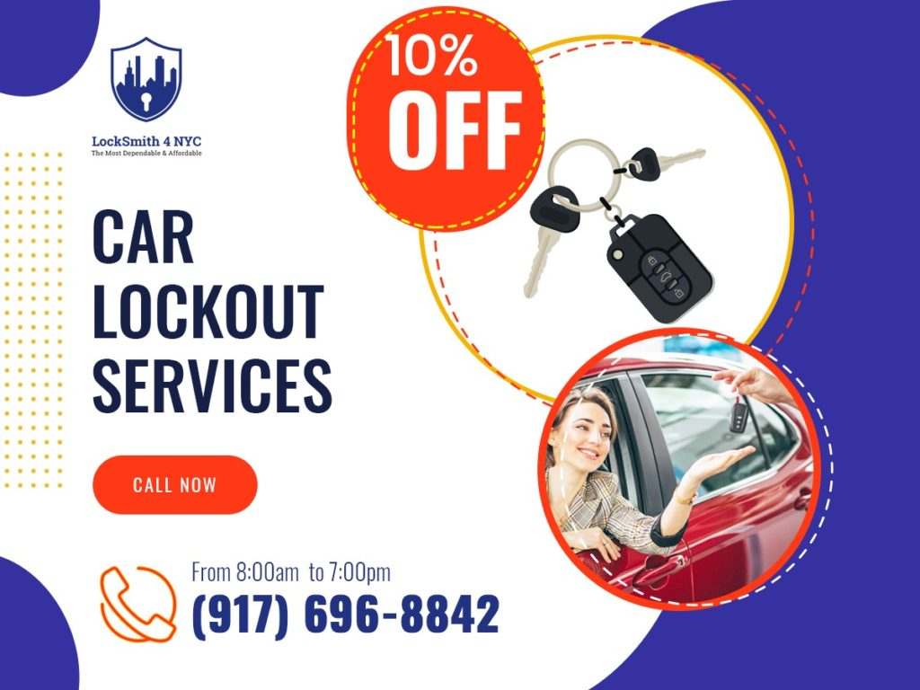 10%OFF - Any Car Lockout Services in NYC