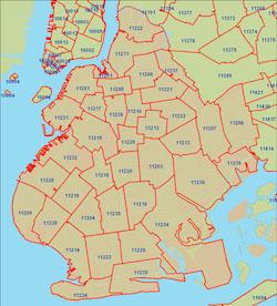 Locksmith Eastern Brooklyn by map