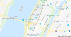 locksmith in Hudson heights area by map