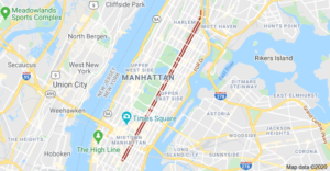 Locksmith in Madison Ave NYC area by map