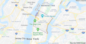 Locksmith in Midtown Manhattan areas by map