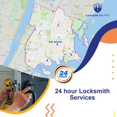 24 hour emergency locksmith Bronx