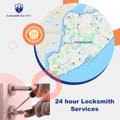 24 hour emergency locksmith Staten Island