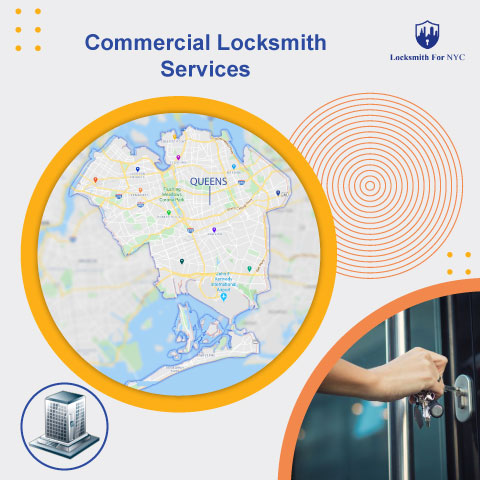 commercial locksmith services Queens