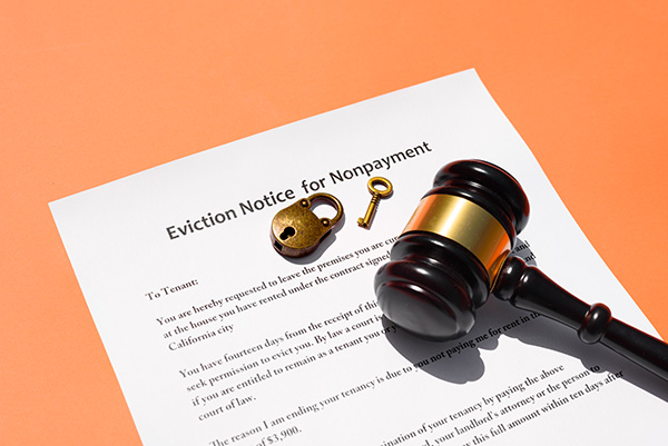 Marshal eviction notice