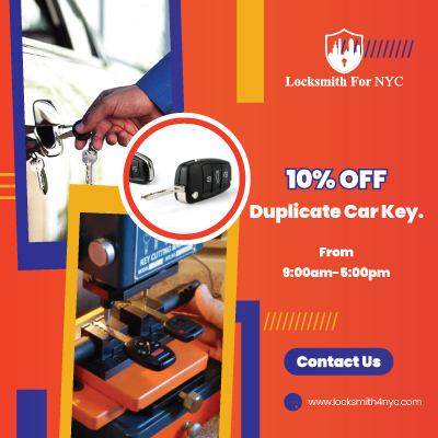 Brooklyn Locksmith Coupon Duplicate Car Key