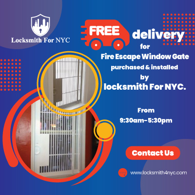 Locksmith Coupon in Bronx - free delivery fire window gate