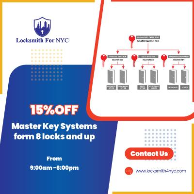 Locksmith Coupon in Manhattan - master key systems