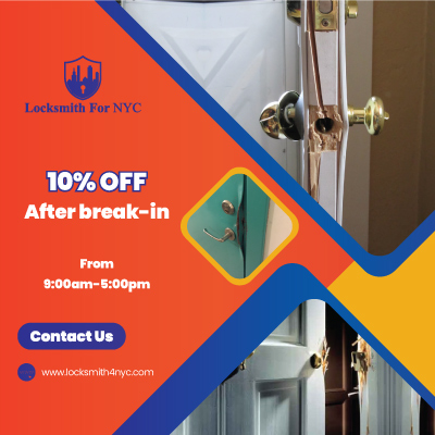 Brooklyn Locksmith Coupon After break-in