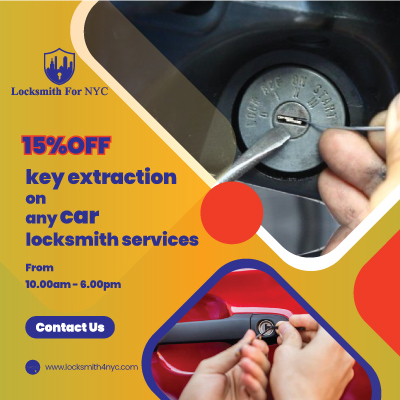 Locksmith Coupons in Queens - key extraction remove