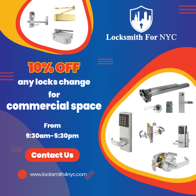 Locksmith Coupon in Bronx - commercial lock change service