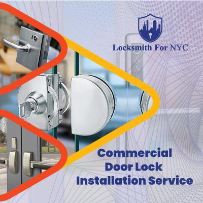 Commercial Door Lock Installation Service