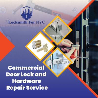 Commercial Door Lock and Hardware Repair Service
