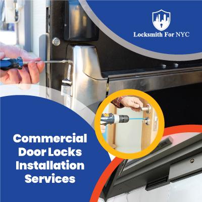 Commercial Door Locks Installation Services
