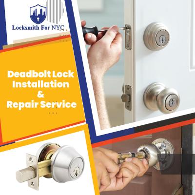 Deadbolt Lock Installation and Repair Service
