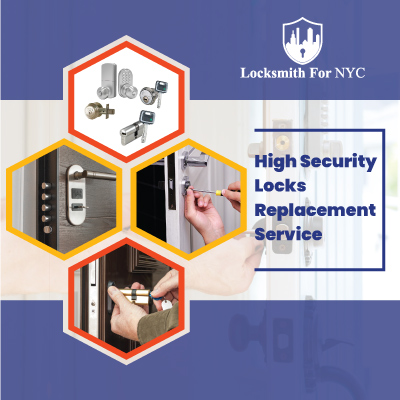 High Security Locks Replacement Service